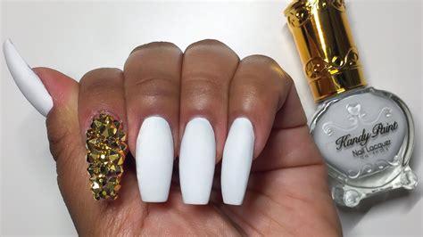 matte gold matte white nails with gold www pixshark com images