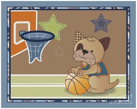 puppy buddies bow puppy buddies basketball digital by cheryl