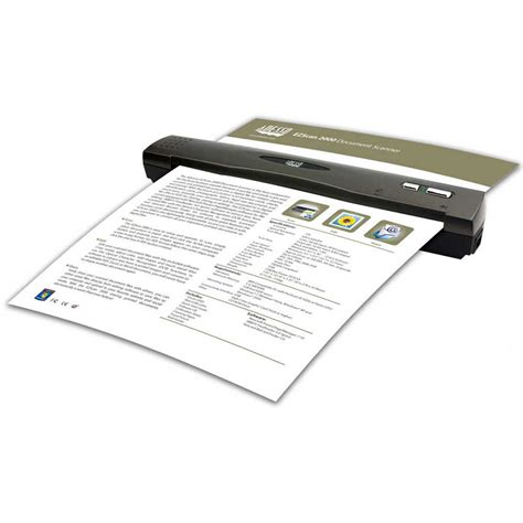 mobile document scanner adesso ezscan 2000 mobile document scanner ezscan 2000 b h