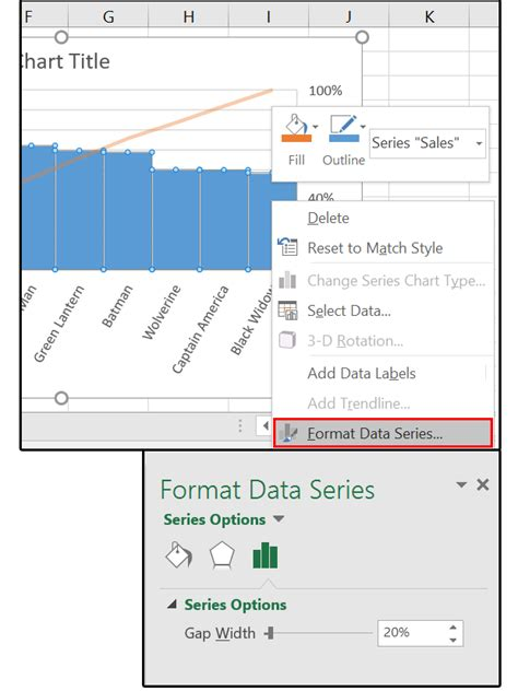 format excel data excel 2016 charts how to use the new pareto histogram