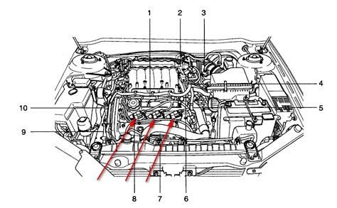 kia 4 cylinder engine diagram kia air conditioning diagram