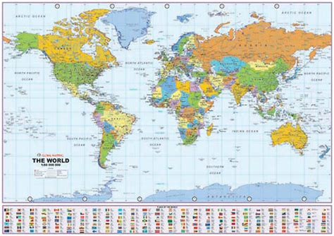 distance between major cities of the world map distance world