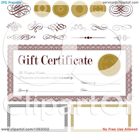 design gift certificate design gift certificates free images
