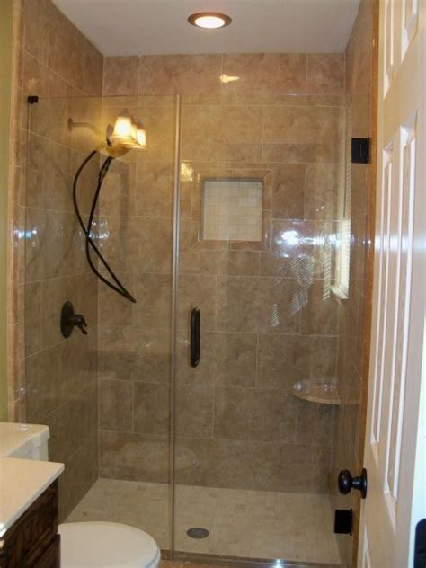 Remodeled Bathroom Showers Small Bathroom Remodel For The Home