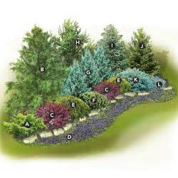False Flower Arrangements - evergreen screen landscape plan