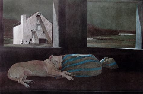Painting Sleepers by The Work Of Andrew Wyeth