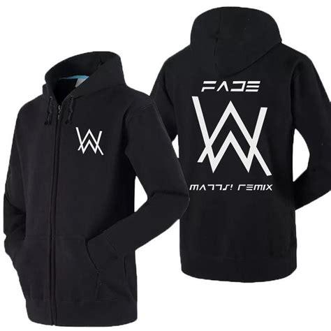 Jaket Alan Walker Ori high q unisex cotton alan walker dj remix faded hoodie