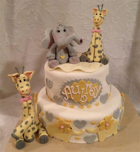 Baby Giraffe Baby Shower by Giraffe Baby Shower Cake Giraffe Cake Elefant Cake