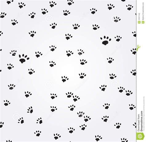 dog pattern wallpaper nahtloser hintergrund katzen paw prints vektors