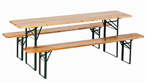 tavolo birreria set birreria in legno tavolo 2 panche 220x70xh80cm