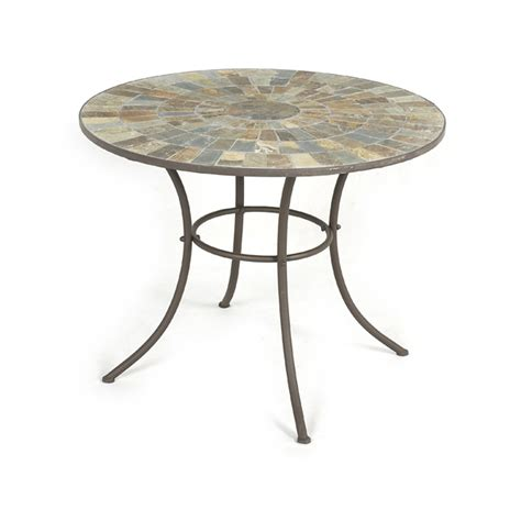 Patio Table Ls Ellister Mosaic Patio Table 80cm On Sale Fast Delivery Greenfingers