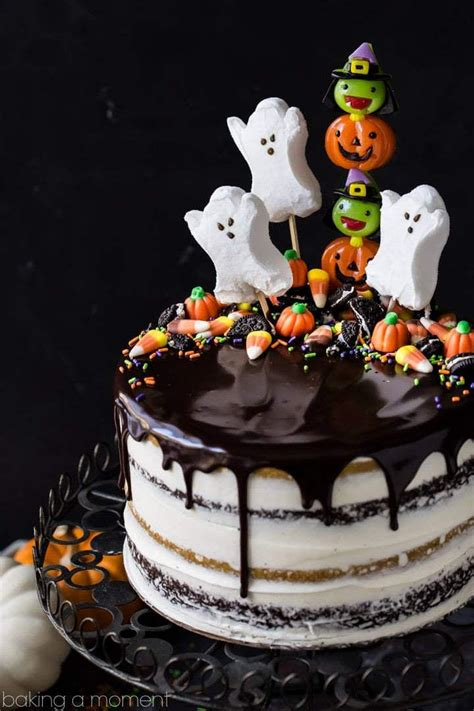ghoulishly festive halloween birthday cakes southern living