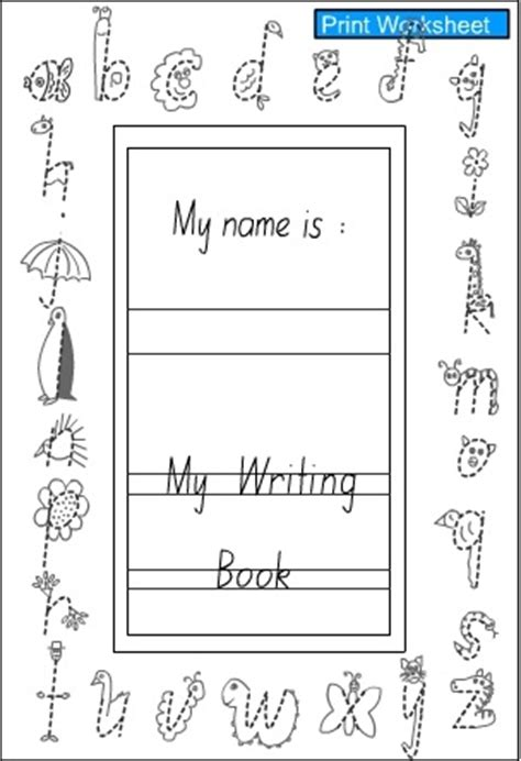 printable alphabet handwriting book handwriting book cover english skills online interactive