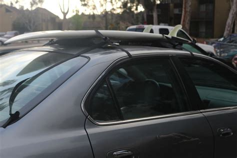 Soft Surfboard Rack by Block Surf Wrap Rax Soft Surfboard Roof Racks Single