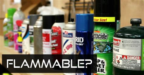 flammable home jake makes guide to flammable aerosols
