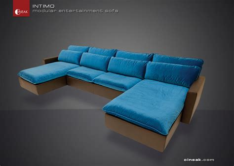 entertainment sofa cineak intimo modular entertainment sofa modern