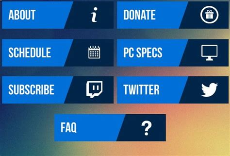 16 Twitch Panel Free Psd Images Twitch Overlay Template Twitch Panel Template And Twitch Twitch Info Templates