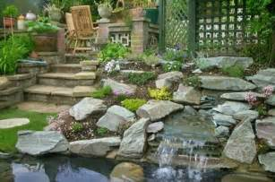 Rock Garden Pond Rock Garden Design Images Home Decoration Tips