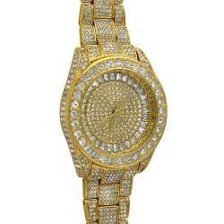 bling bling 41mm gold fully custom custom bling
