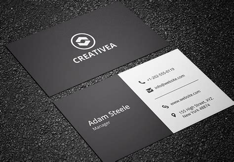and white card template black and white business cards black white business card