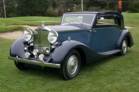 rolls royce sport coupe 1935 1939 rolls royce phantom iii vesters neirinck
