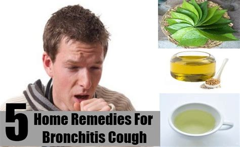 5 best home remedies for bronchitis cough