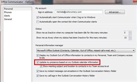 how to update personal information in outlook how to update personal information in outlook