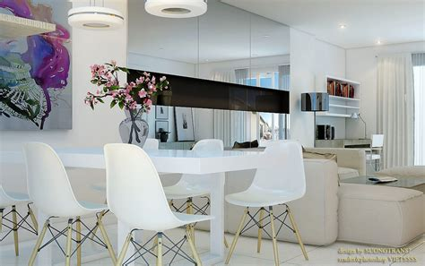 Dining Room White by White Decor Dining Areas
