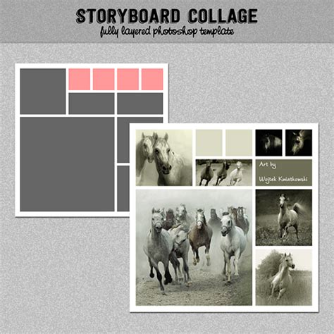 best photos of photoshop collage templates storyboard storyboard photo collage template photoshop template