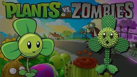 tutorial ngecheat plant vs zombie 3d origami blover tutorial from the plants vs zombies game