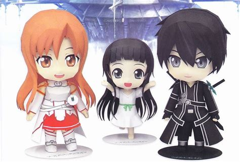 Kirito Papercraft - 160 best images about papercrafts on chibi