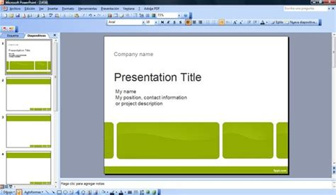 powerpoint executive summary template