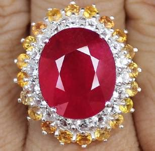 Sapphire Glass Filling 496 Cts 23 0 cts masterpiece genuine ruby yellow sapphire w
