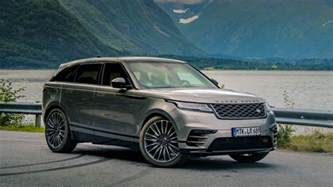 Range Rover 2018 Land Rover Range Rover Velar Release Date Price And
