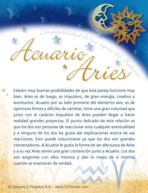 Aries Acuario | compatibilidad del signo acuario acuario con aries