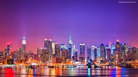 new york new york city skyline wallpapers high quality free
