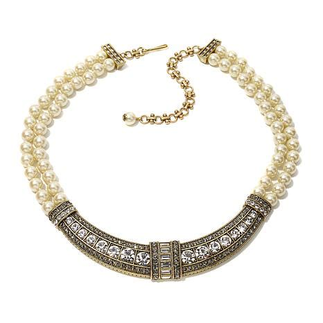 necklaces for women beaded necklaces jewelry hsn heidi daus quot everyday elegance quot beaded crystal collar drop
