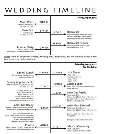 wedding checklist with timeline printable free free wedding day timeline printables wedding reception