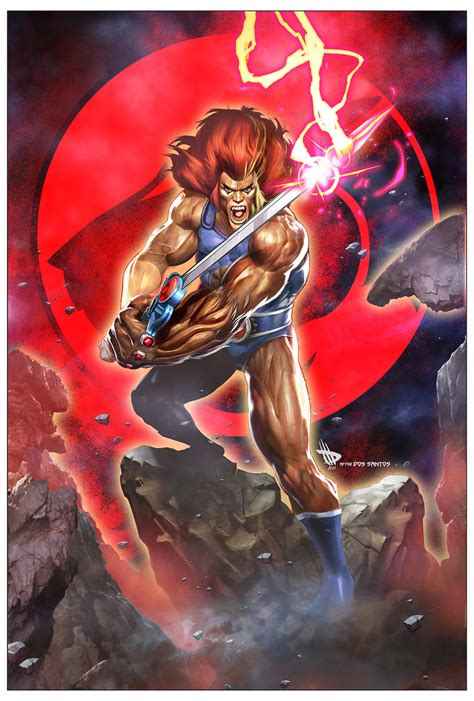 Dc Comics He Thunder Cats 4 March 2017 o roars in thundercats by dave wilkins geektyrant