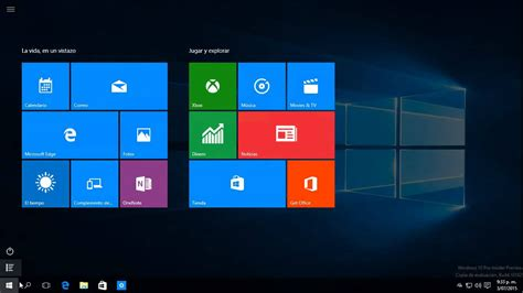 imagenes windows 10 inicio activar pantalla completa de inicio en windows 10 youtube