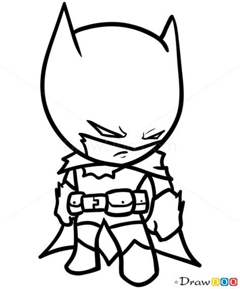batman head coloring page how to draw batman chibi how to draw drawing ideas