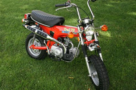 honda 70 trail bike 1976 honda ct70 original museum show mini trail bike