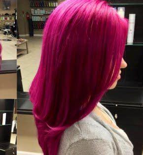 magenta hair hair styles cabello fucsia