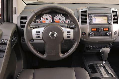 nissan trucks interior 2014 nissan frontier pro 4x first look