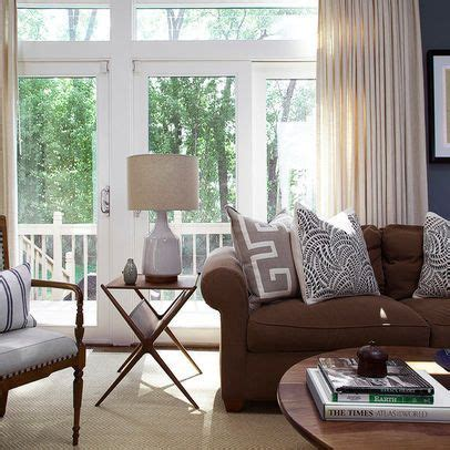 Chocolate Brown Couches Living Room - chocolate brown sofa living room grey