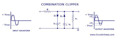 diode clipper and cler circuits experiment diode clipper circuit exles 28 images diode clipper circuit positive negative biased