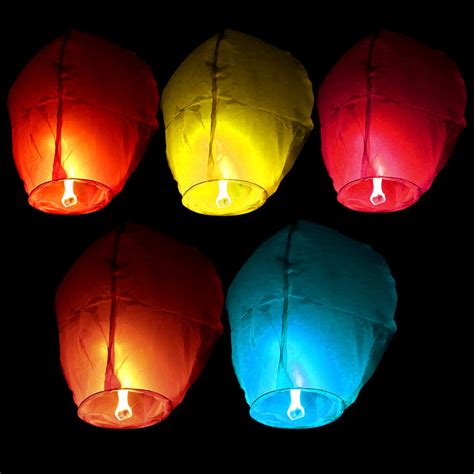 Paper Lanterns That Fly - paper sky wishing lanterns fly candle l wish