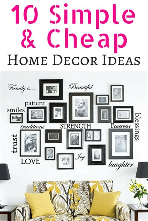 6 cheap home decorating ideas simple and cheapest way to 10 simple cheap home decor hacks wicked lil pixie