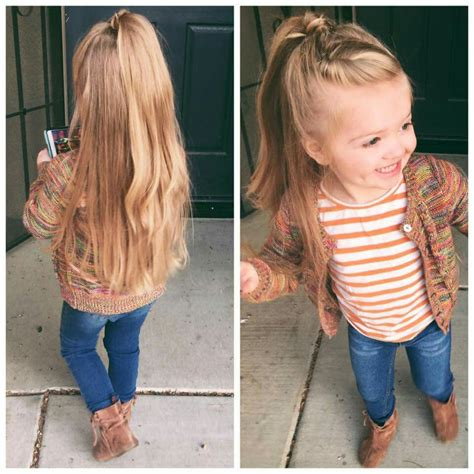 easy hairstyles for school hair down half up half down hair little girl hairstyles little