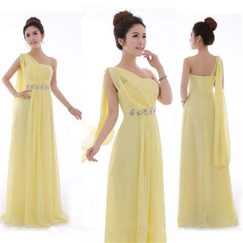 light yellow bridesmaid dresses mint green bridesmaid dress one shoulder chiffon